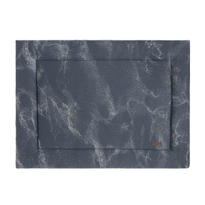 Boxkleed Marble granit/grijs - 80x100