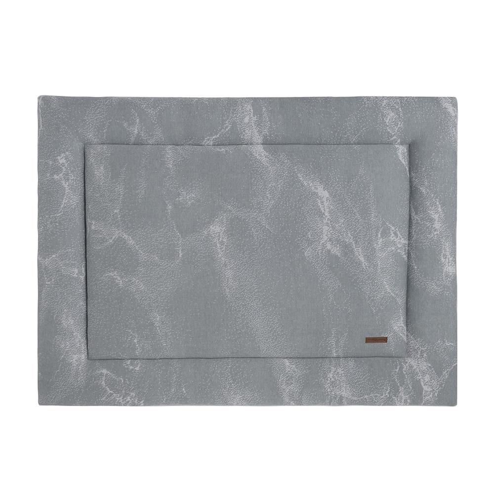 babys only 0210282 boxkleed 75x95 marble grijs zilvergrijs 1