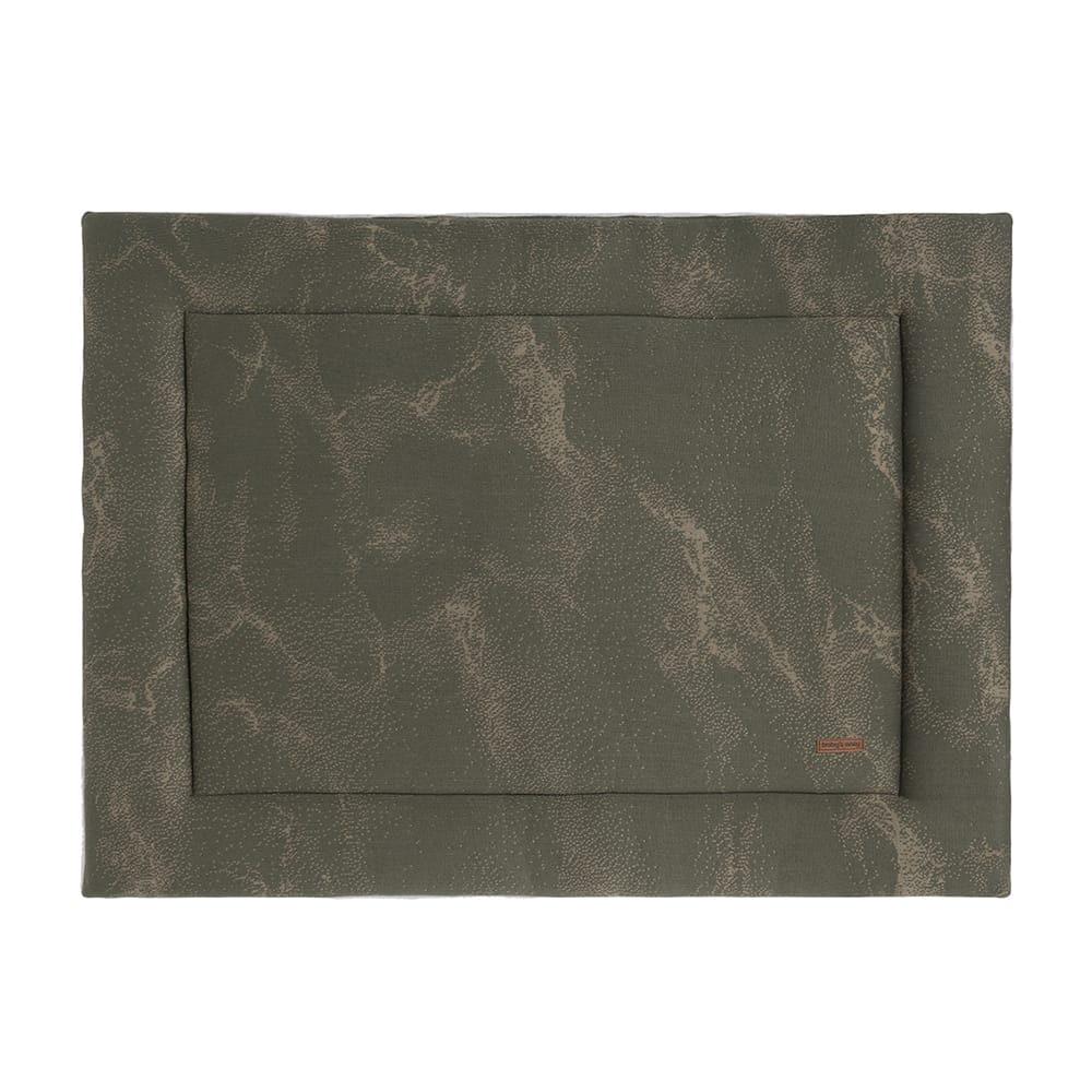 babys only 0211285 boxkleed 85x100 marble khaki olive 1