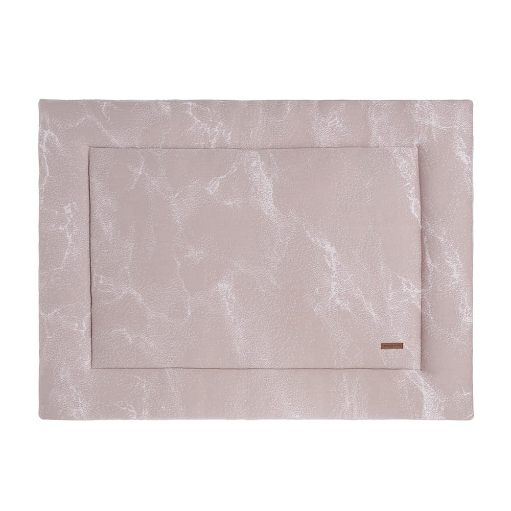 babys only 0210284 boxkleed 75x95 marble oud roze classic roze 1