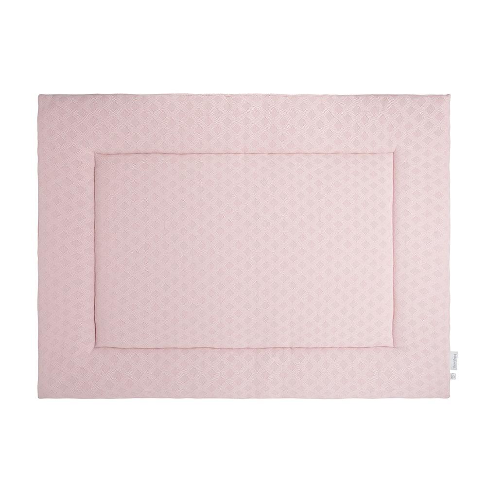 boxkleed reef misty pink 80x100
