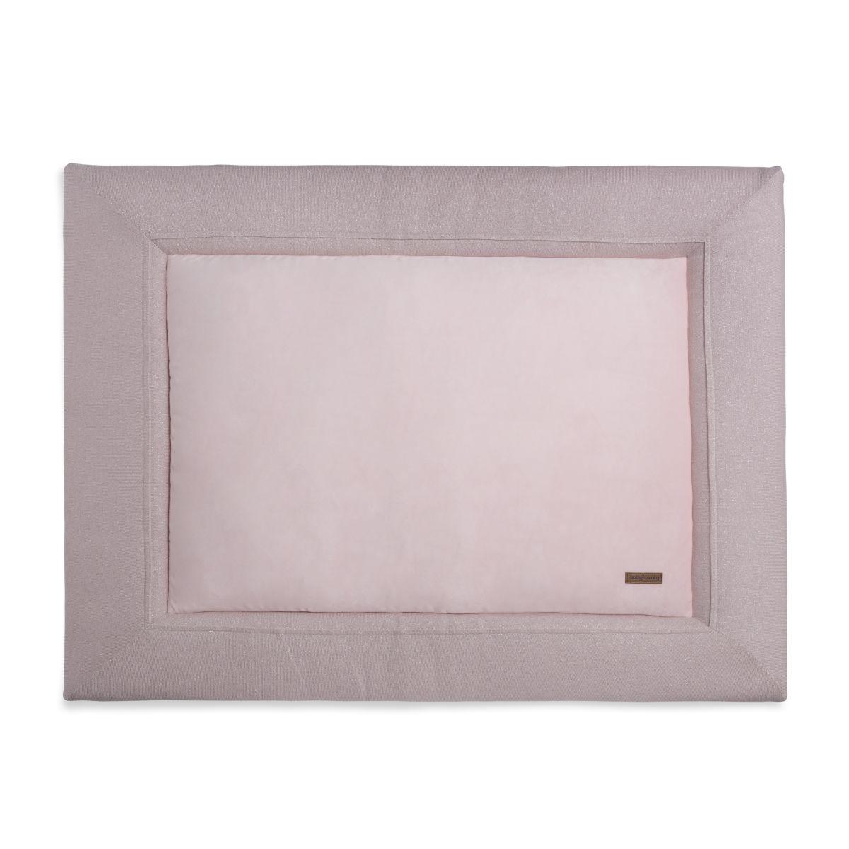 babys only 0401271 boxkleed 85x100 sparkle zilverroze melee 1