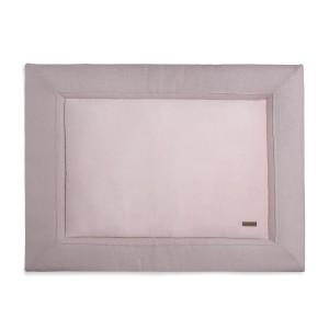 Boxkleed Sparkle zilver-roze mêlee - 80x100