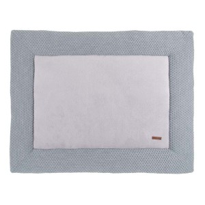 Boxkleed Sun grijs/zilvergrijs - 75x95