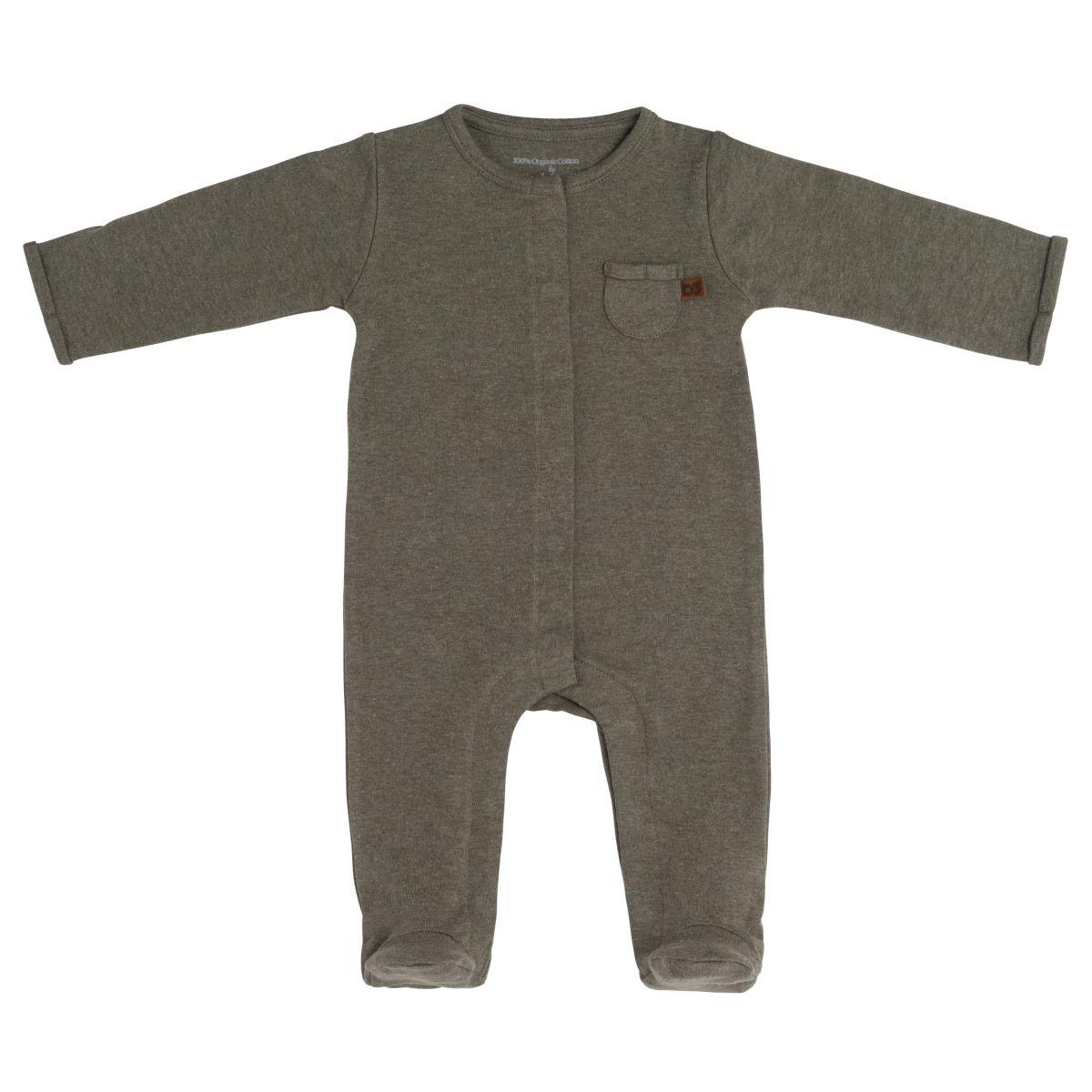 babys only 3546225 boxpakje met voetjes melange 62 khaki 1