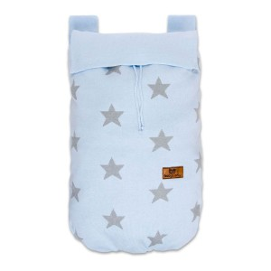 Boxzak Star baby blauw/grijs
