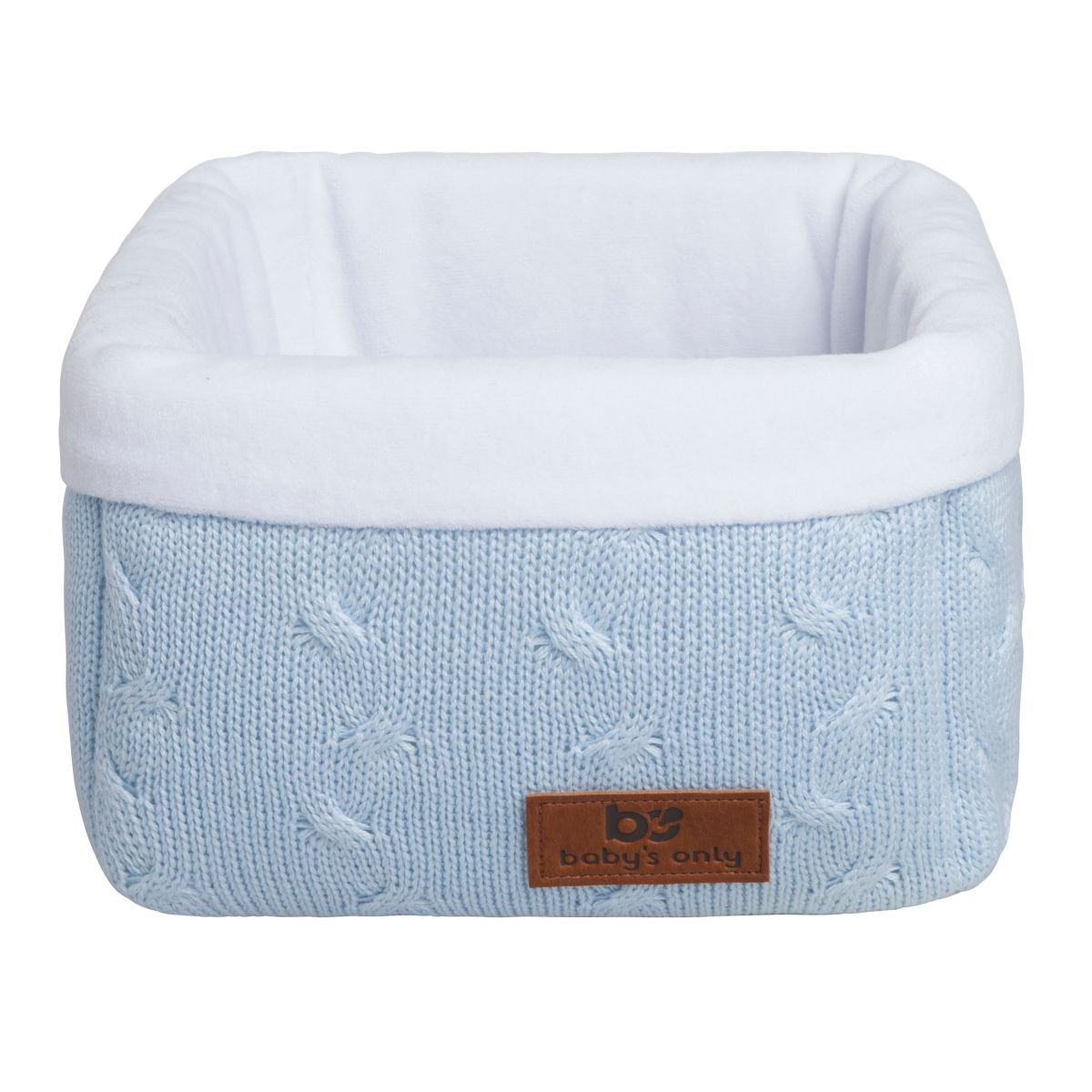babys only 0133920 commodemandje cable baby blauw