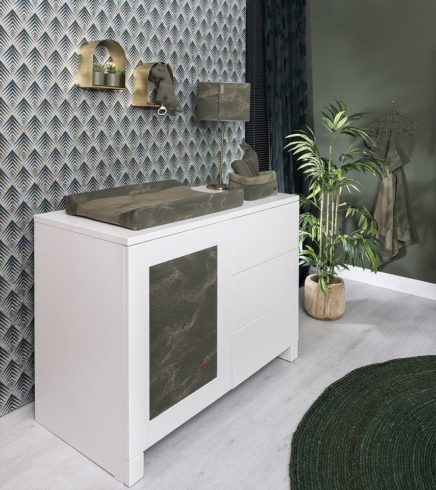 commodemandje marble khakiolive