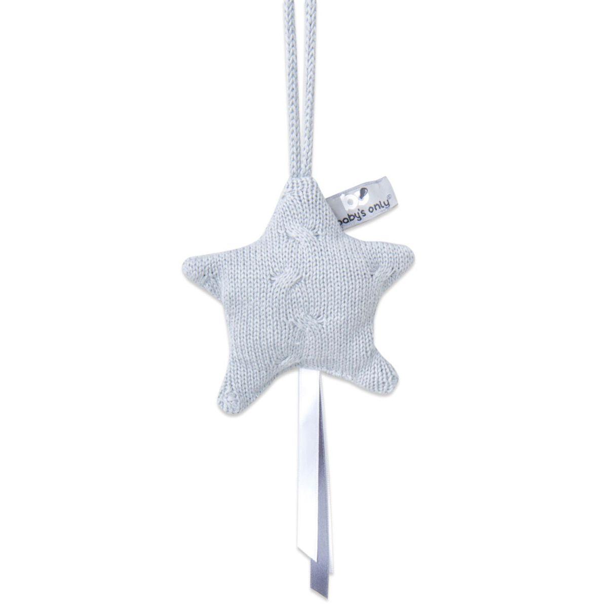 babys only 0133822 decoratiester cable grijs