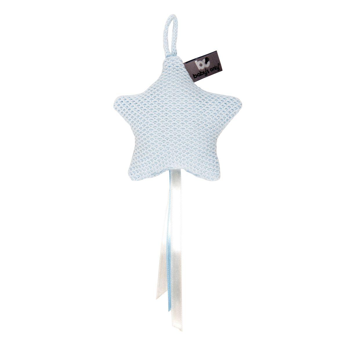 babys only 0203806 decoratiester classic poederblauwjpg