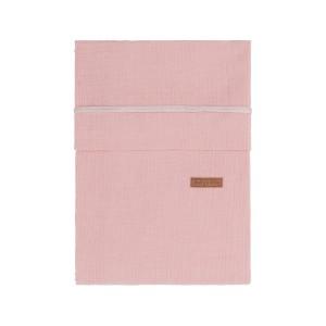 Dekbedovertrek Breeze oud roze - 100x135