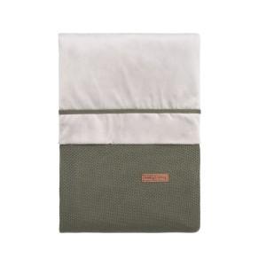Dekbedovertrek Classic khaki - 100x135