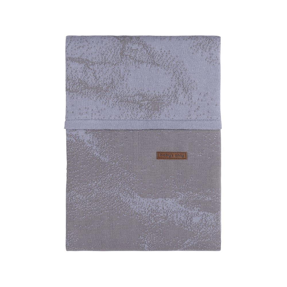 babys only 0210986 dekbedovertrek 135x100 marble cool grey lila 1