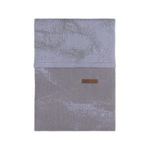 Dekbedovertrek Marble cool grey/lila - 100x135