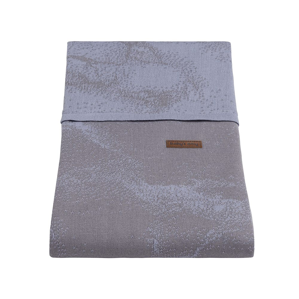 babys only 0210986 dekbedovertrek 135x100 marble cool grey lila 2