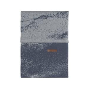 Dekbedovertrek Marble granit/grijs - 100x135