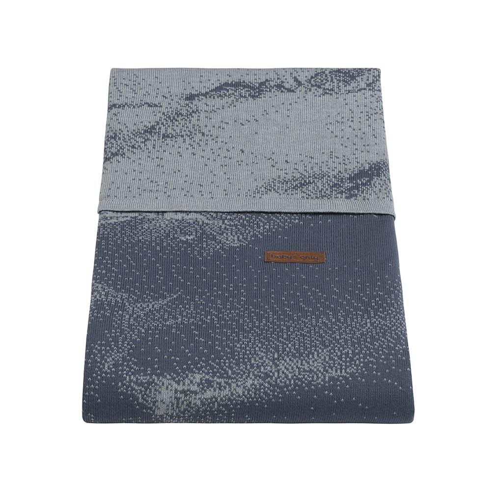 babys only 0210987 dekbedovertrek 135x100 marble granit grijs 2