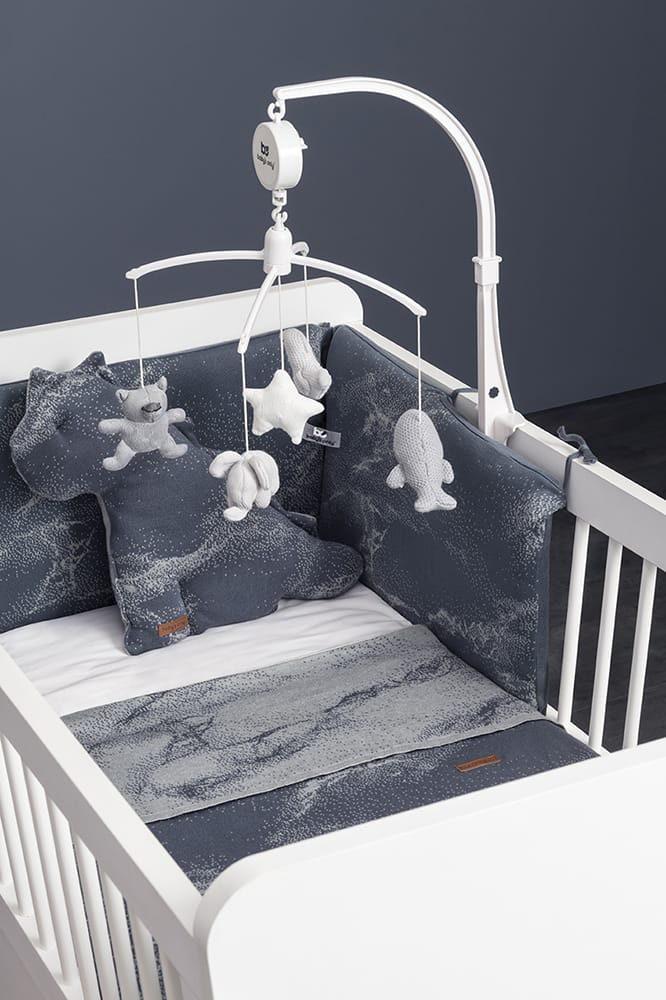 babys only 2109 dekbedovertrek 100x135 marble 1