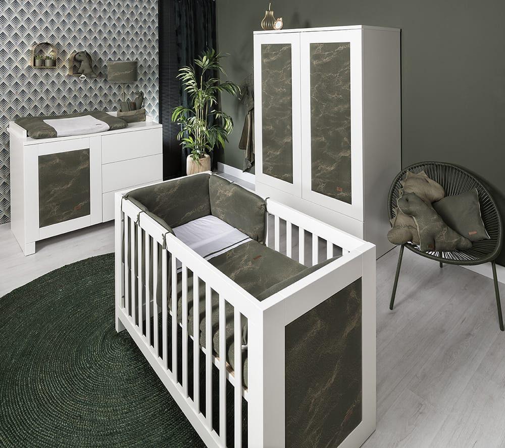 babys only 2109 dekbedovertrek 100x135 marble 2