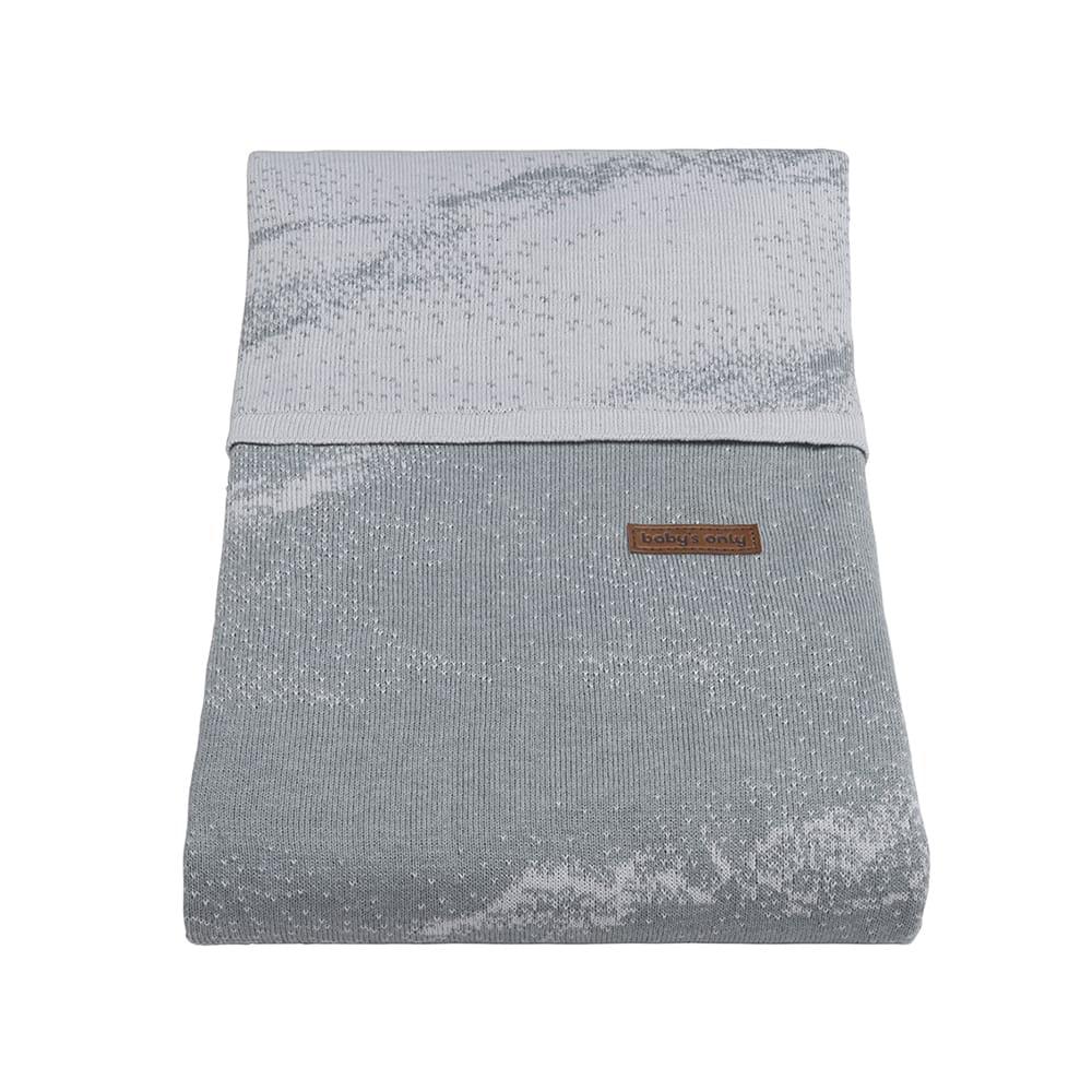 babys only 0210982 dekbedovertrek 135x100 marble grijs zilvergrijs 2