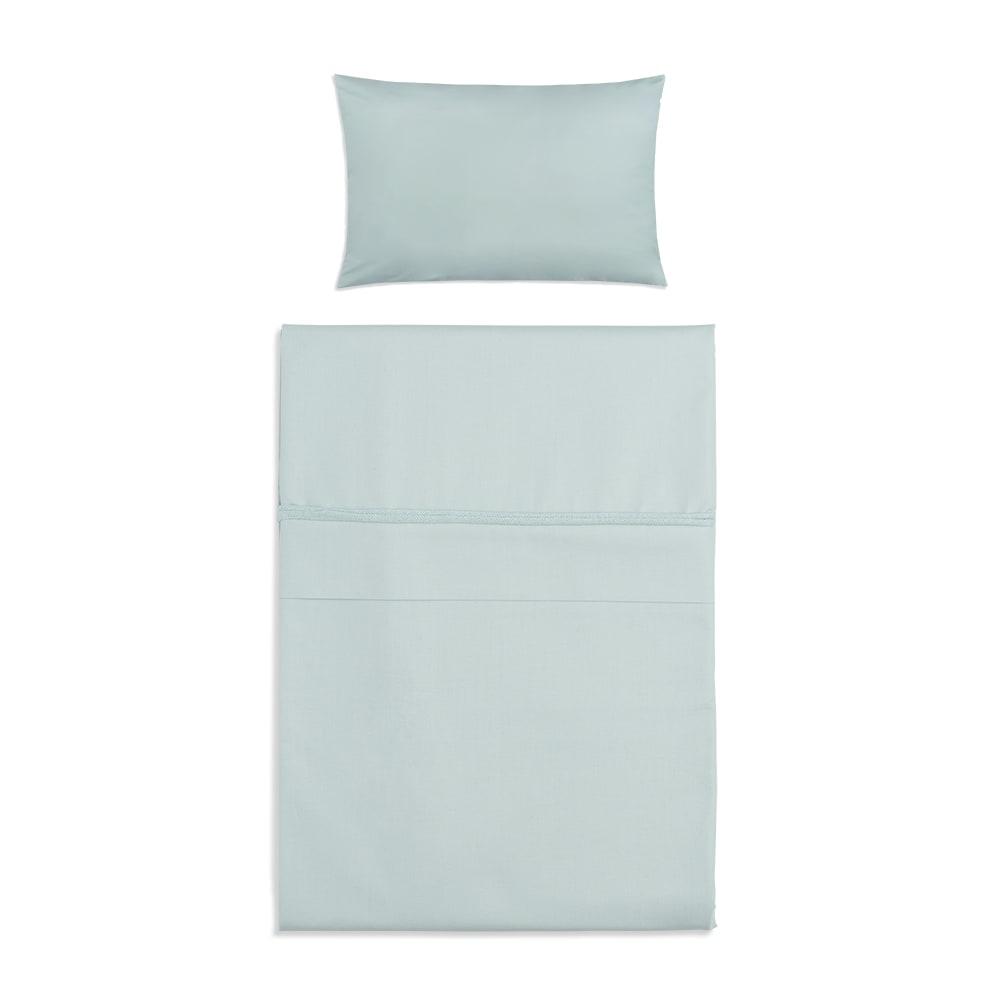 babys only 0750909 dekbedovertrek 100x135 cm soft cotton mint 1