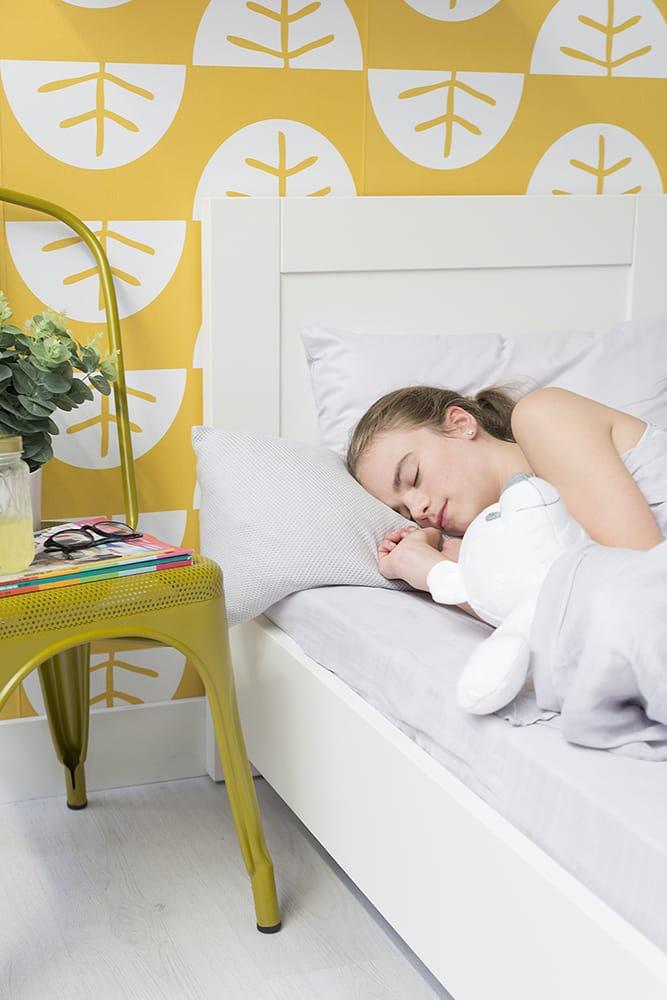dekbedovertrek soft cotton stonegreen 100x135
