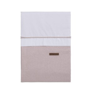 Dekbedovertrek Sparkle zilver-roze mêlee - 100x135