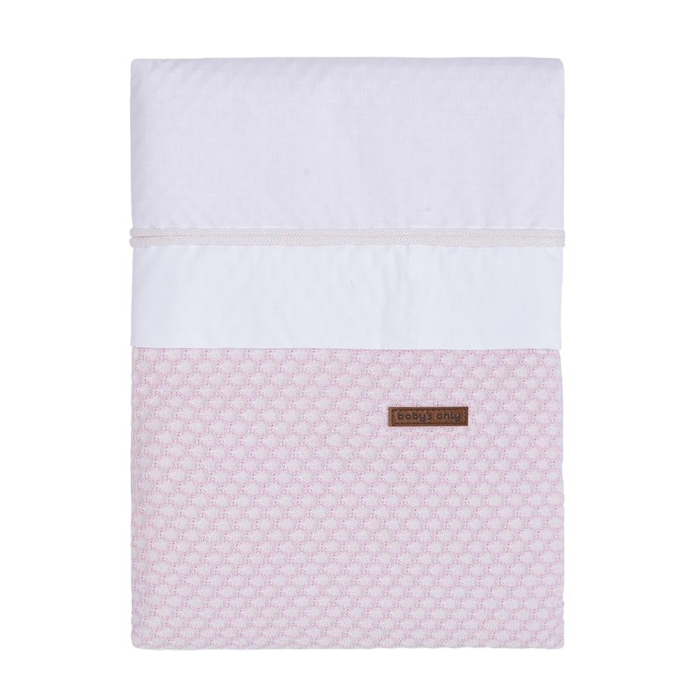 babys only 0250981 dekbedovertrek 100x135 cm sun classic roze baby roze