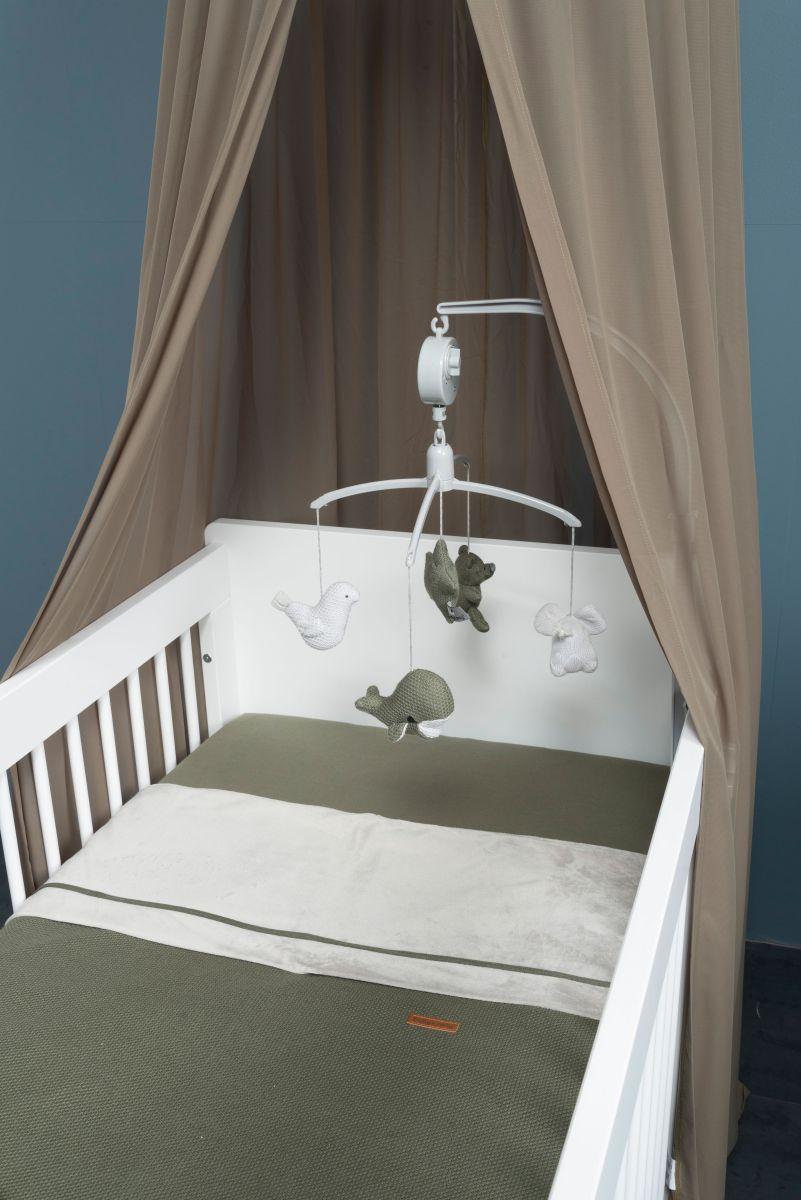 babys only 0200725 dekenovertrek 80x80 khaki 2