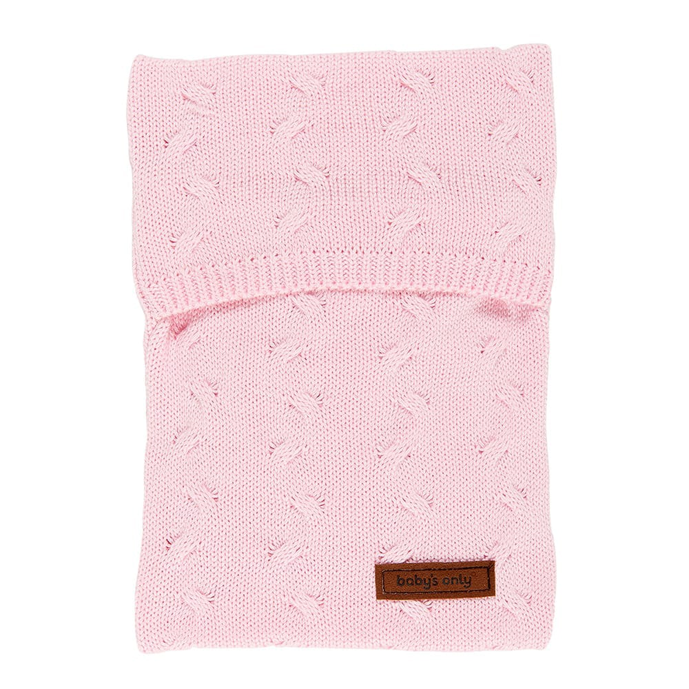 babys only 0136721 kruikenzak zensy cable baby roze