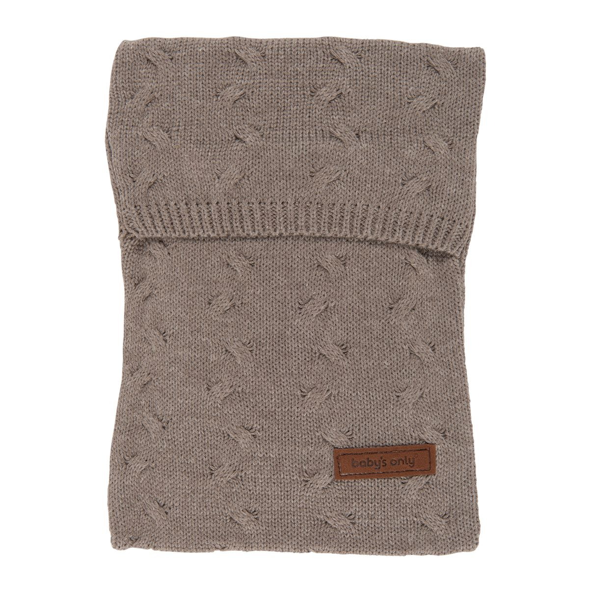 babys only 0136729 kruikenzak zensy cable taupe