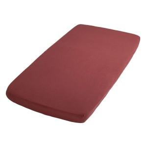 Hoeslaken Breeze stone red - 60x120