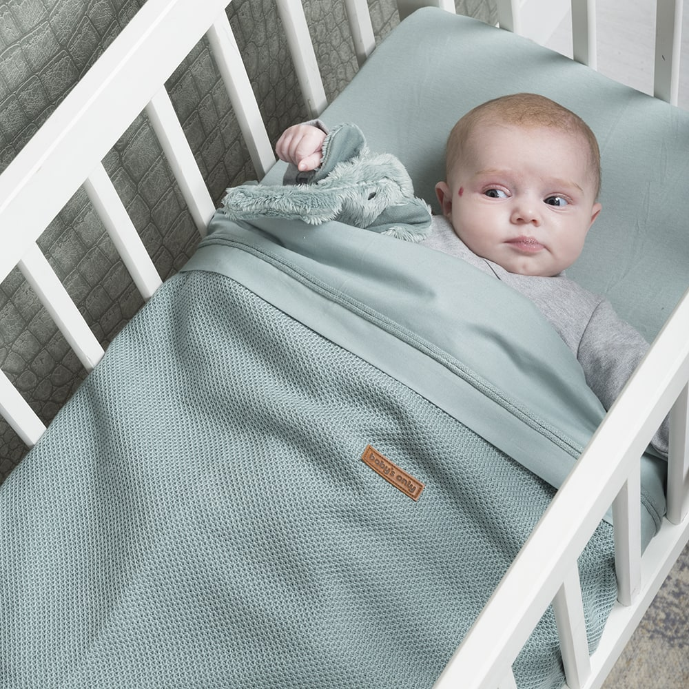 babys only 0768410 hoeslaken 40x80 stonegreen2