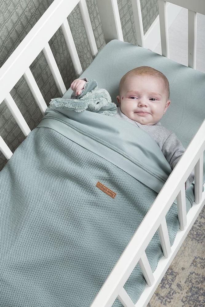 babys only 0768410 hoeslaken 40x80 stonegreen3
