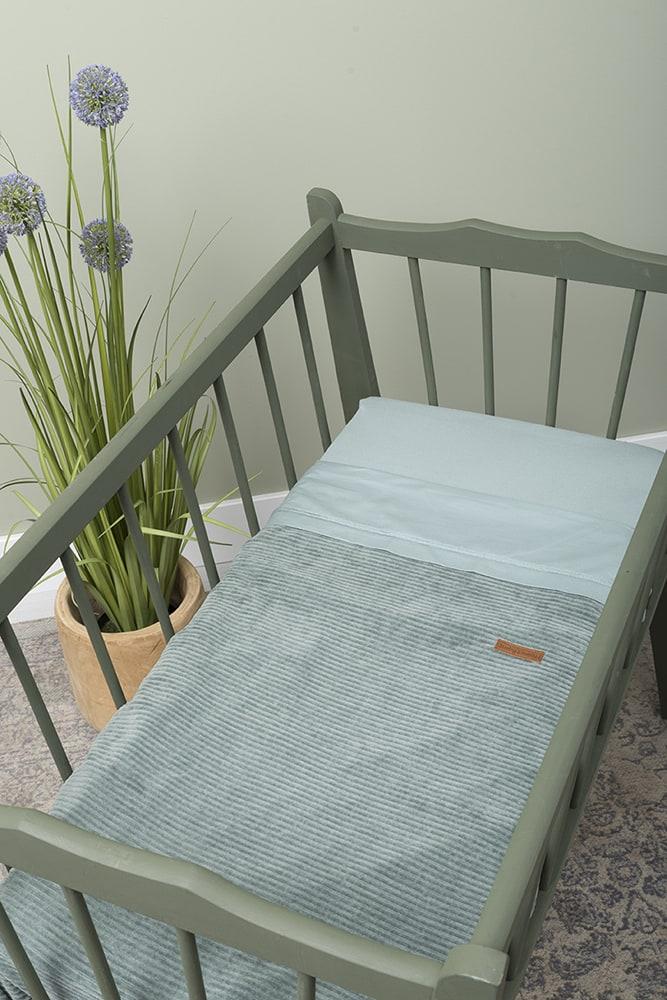 hoeslaken stonegreen 60x120