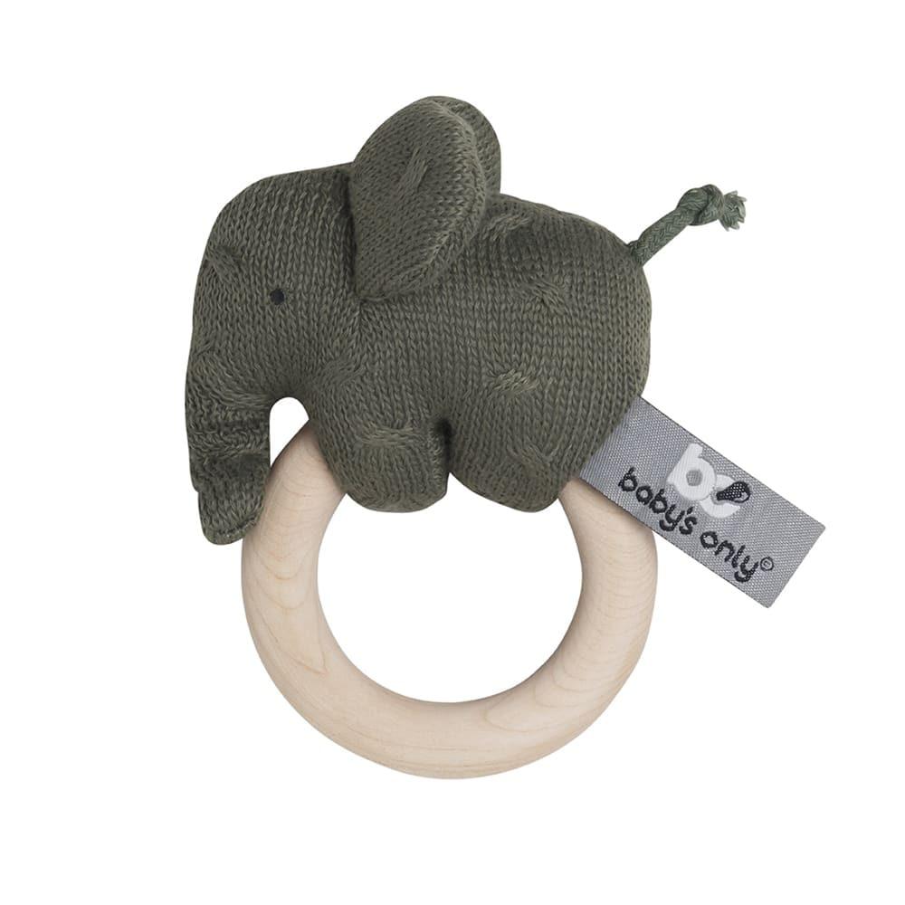 babys only bo81305402550 rammelaar olifant khaki 1
