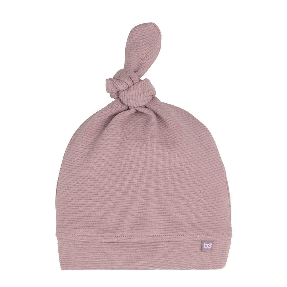babys only bo341325007 pure knoopmutsje oud roze 1
