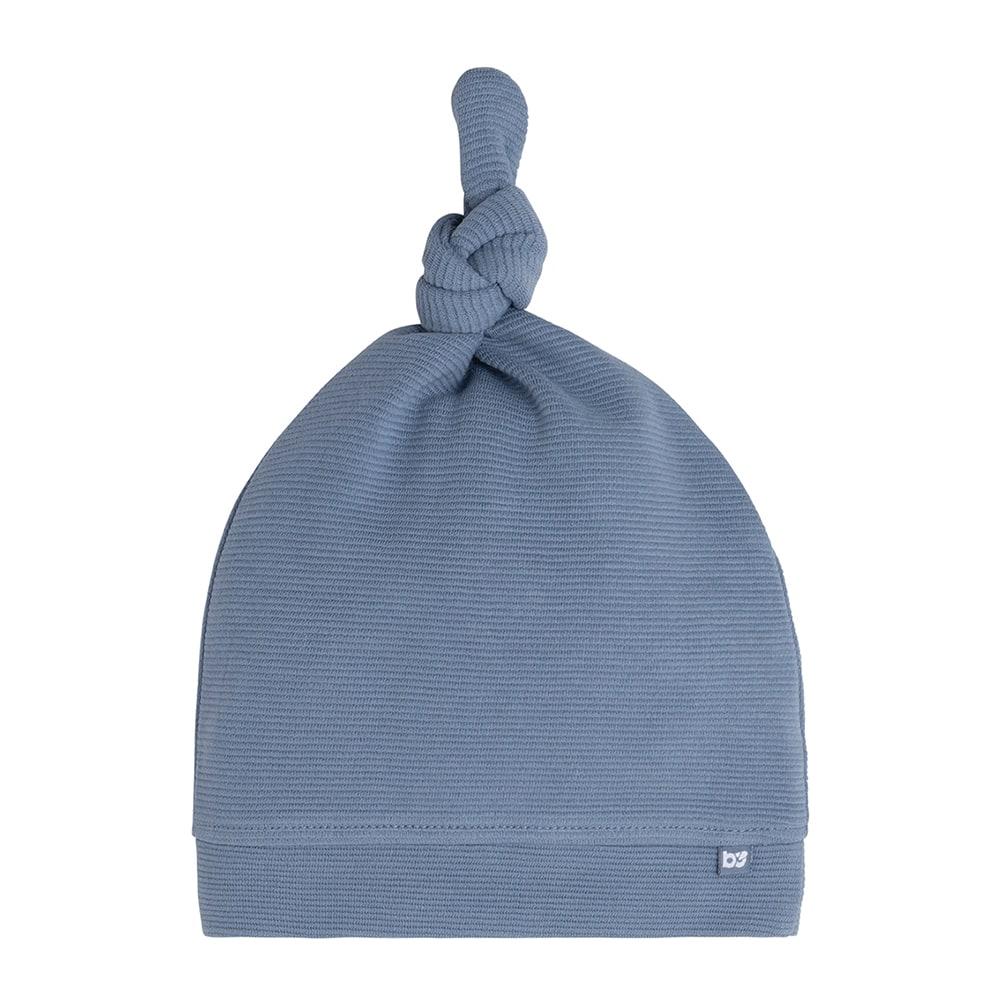 babys only bo341325038 pure knoopmutsje vintage blue 1