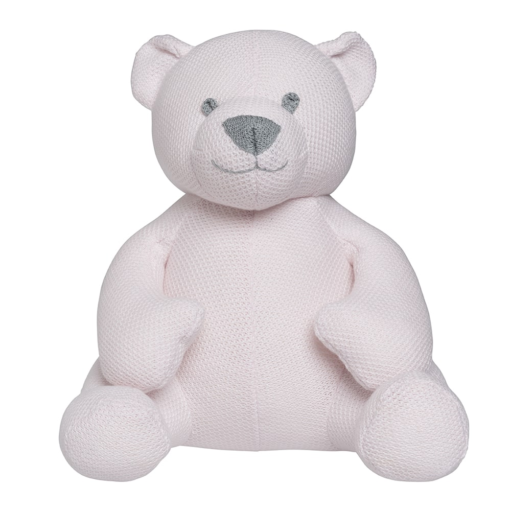 babys only bo020619001 classic knuffelbeer 35 cm classic roze 1