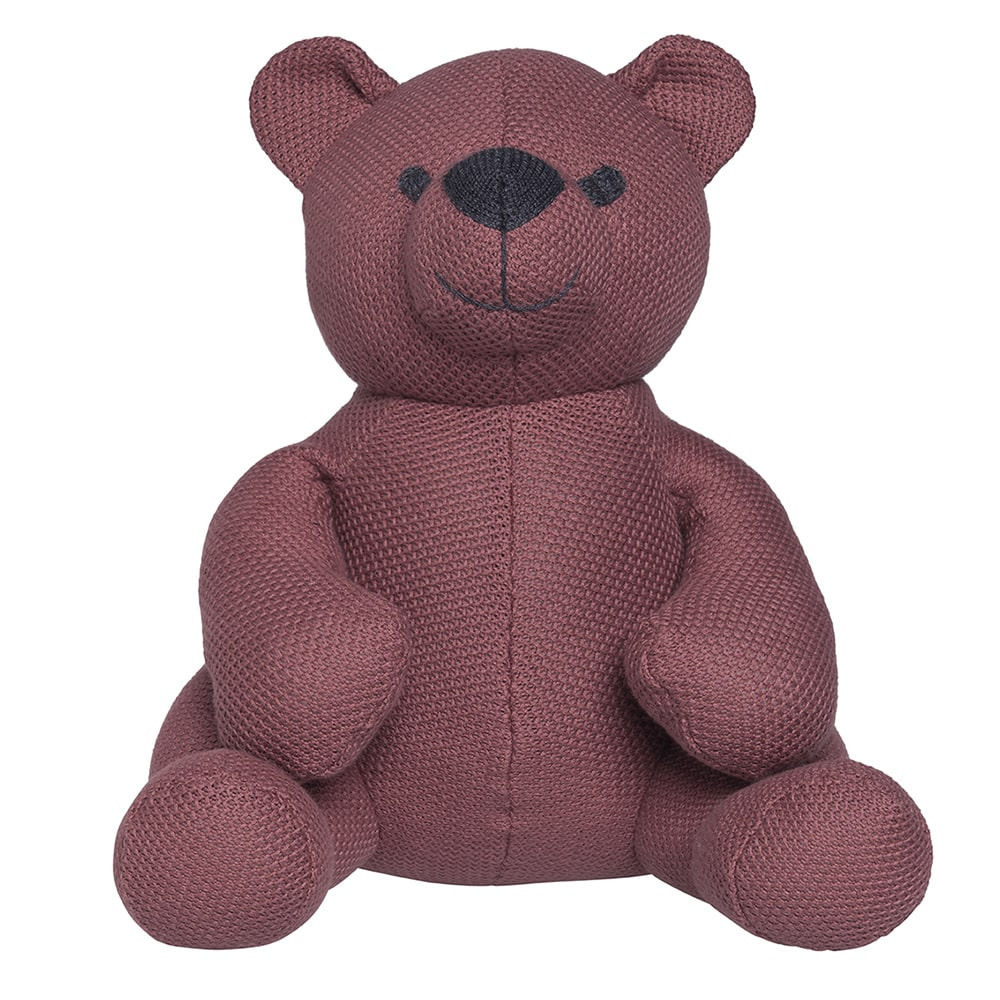 babys only bo020619040 classic knuffelbeer 35 cm stone red 1