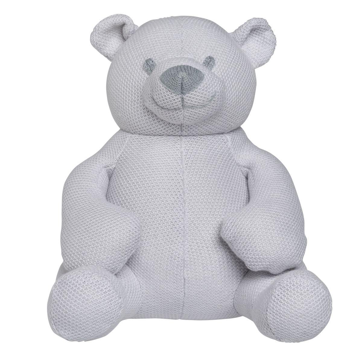 babys only bo020619002 classic knuffelbeer 35 cm zilvergrijs 1