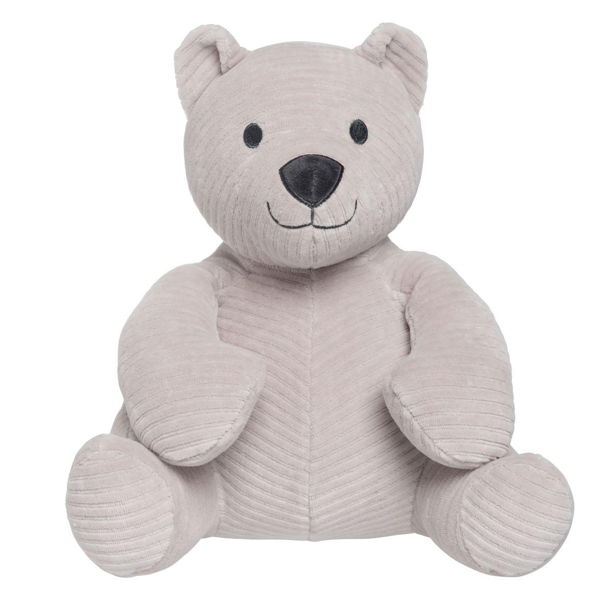 babys only bo024619023 sense knuffelbeer kiezelgrijs 1