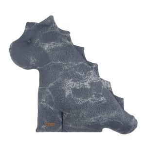 Knuffeldino Marble granit/grijs - 55 cm