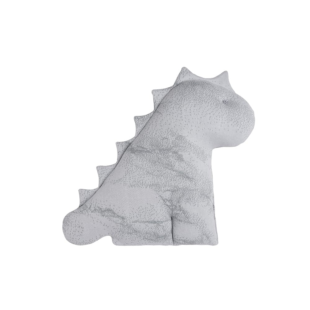 babys only 0216382 knuffeldino marble grijs zilvergrijs 2