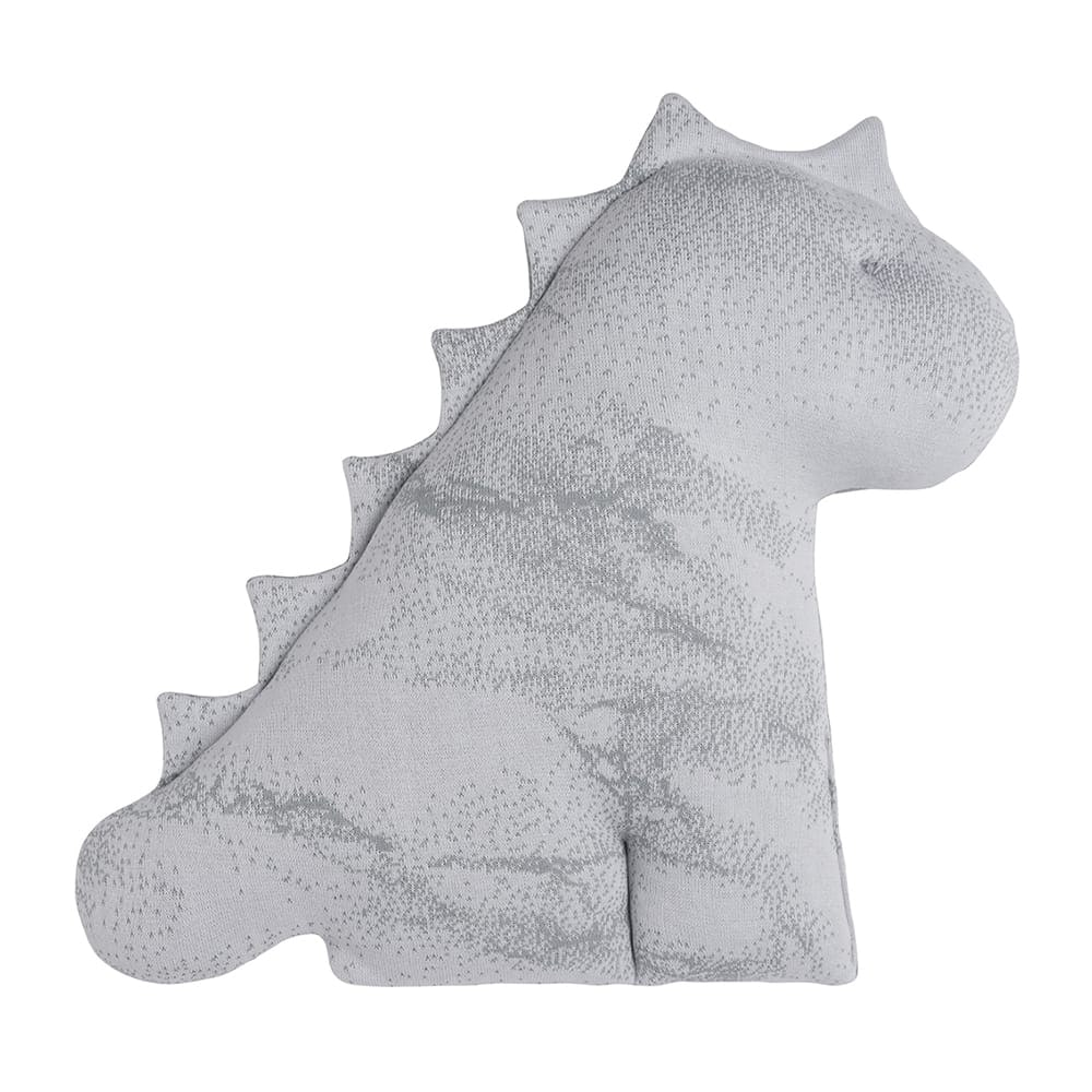 babys only 0216482 knuffeldino xl marble grijs zilvergrijs 2
