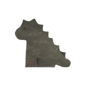 Knuffeldino Marble khaki/olive - 40 cm