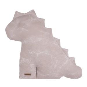 Knuffeldino Marble oud roze/classic roze - 55 cm
