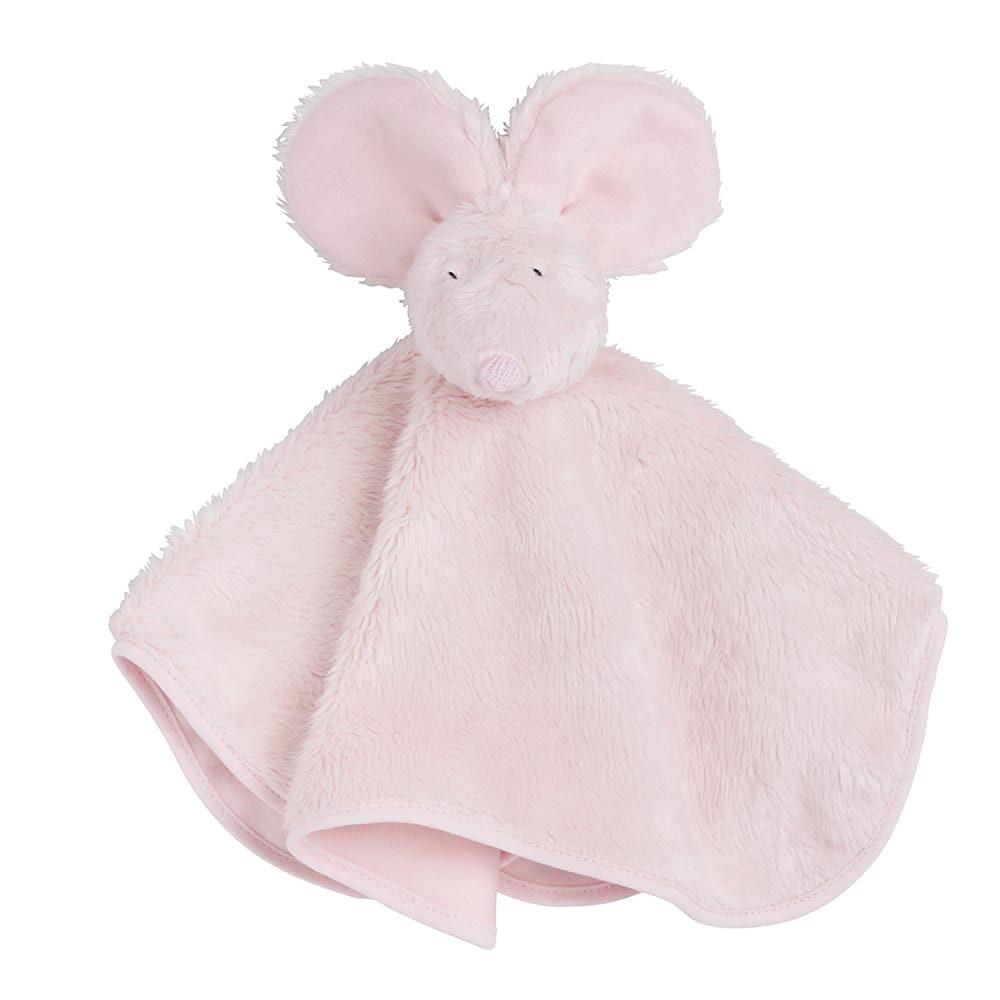 babys only 0853501 knuffeldoek muis classic roze 1
