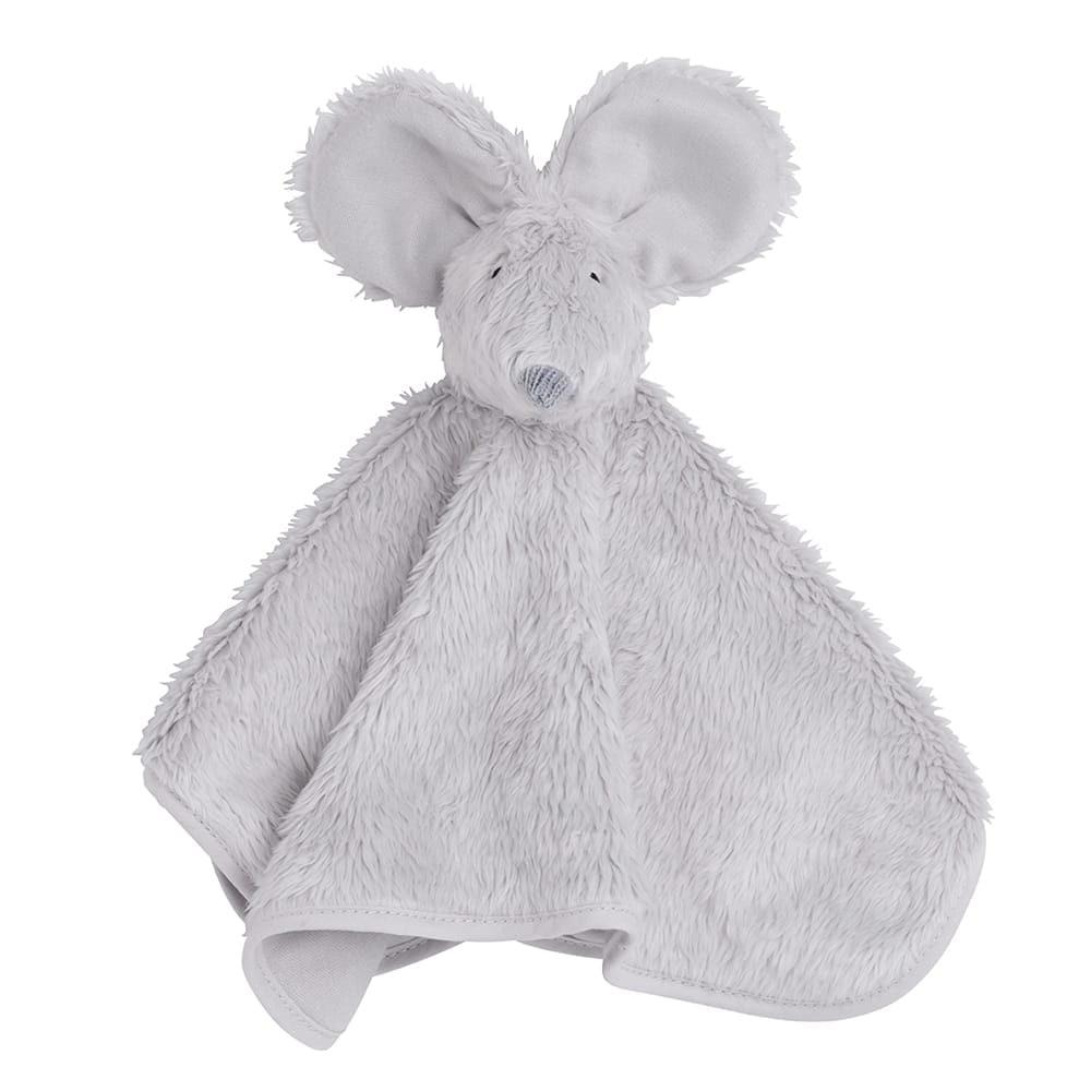 babys only 0853502 knuffeldoek muis zilvergrijs 1