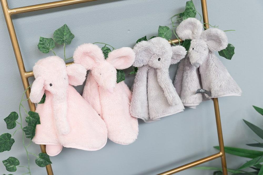 bo850035 babys only knuffeldoek muis 1